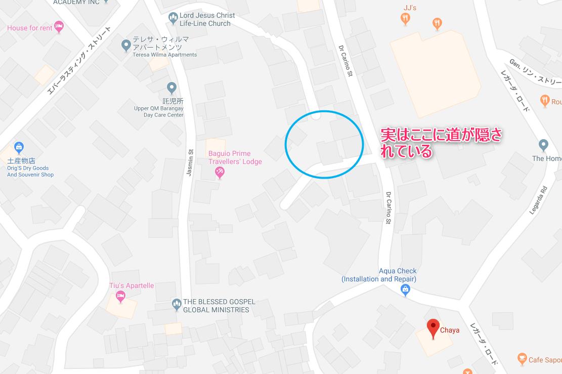 おすすめ日本食レストランCHAYA地図
