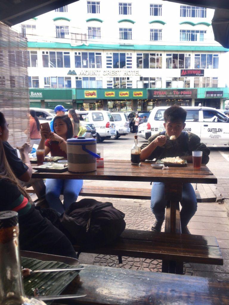 Inihaws restaurant in Baguio Philippines