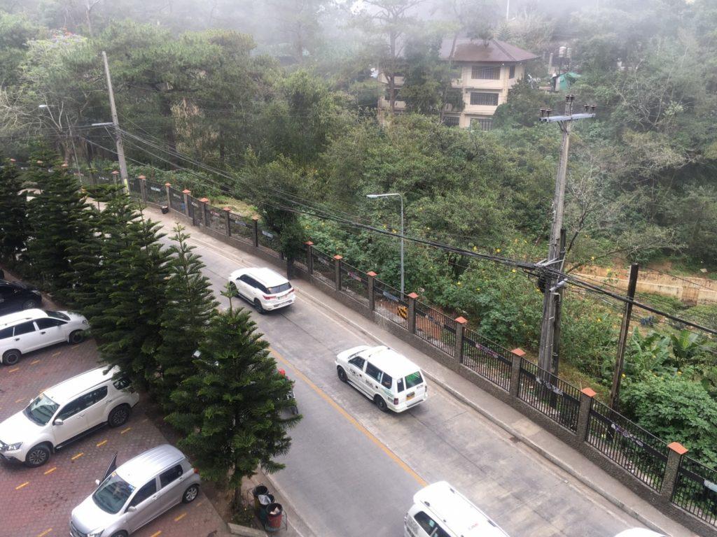 smog in Baguio Philippines