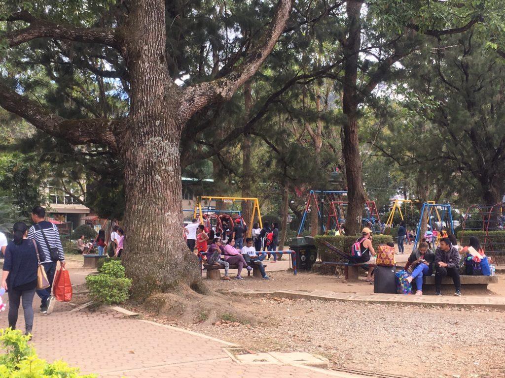 Burnham Park in Baguio Philippines