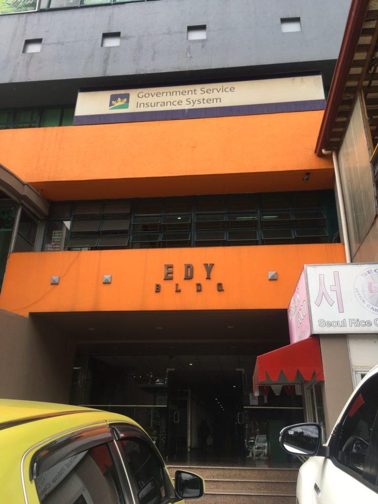 Korean restaurant in Baguio Golden-dragon