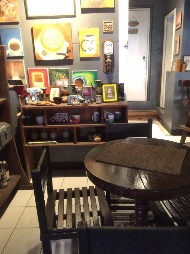 KAPE UMALI cafe in Baguio city
