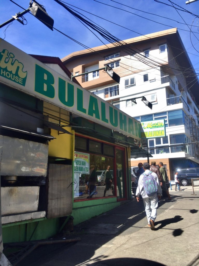 Local restaurant in Baguio