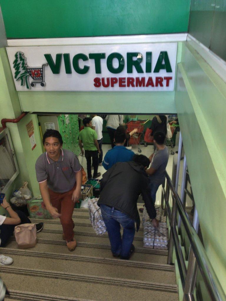 victoria super market baguio