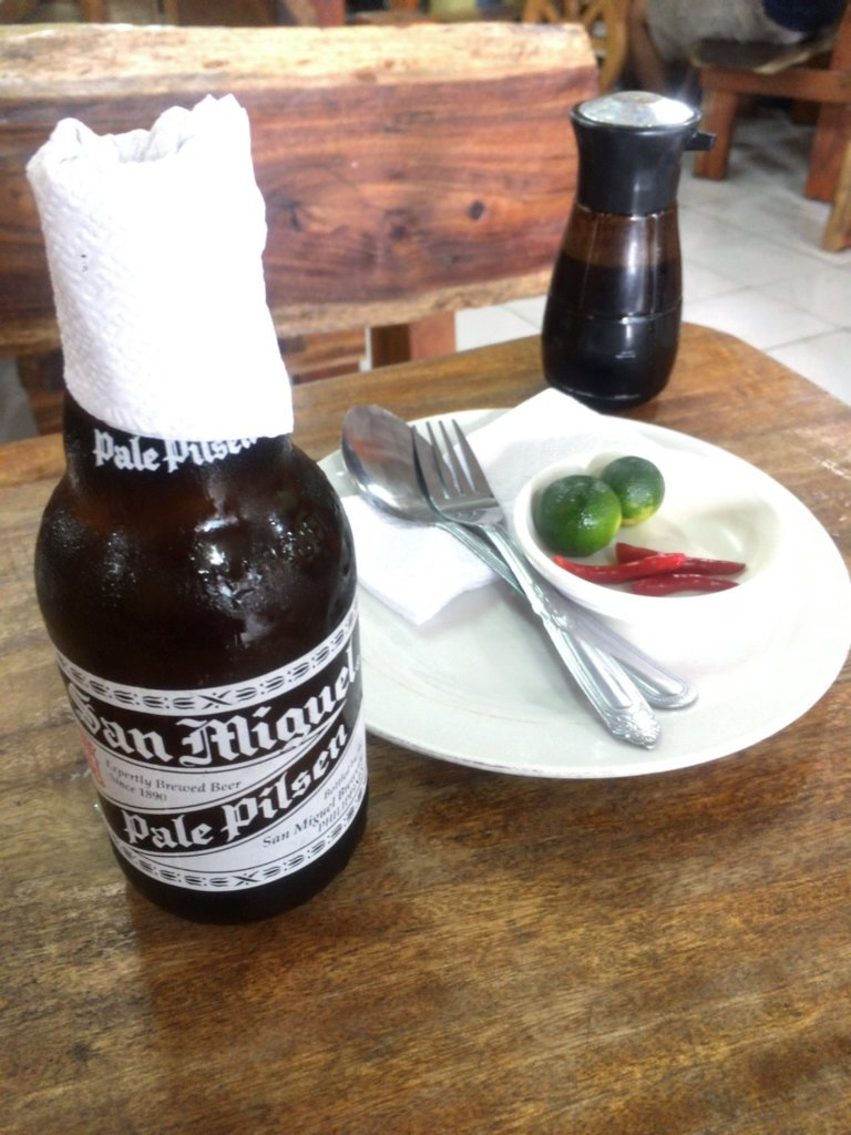 Daddy's Restaurant in Baguio philippines beer