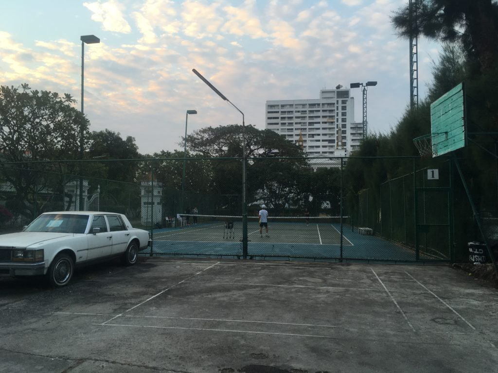 tennis in Bangkok