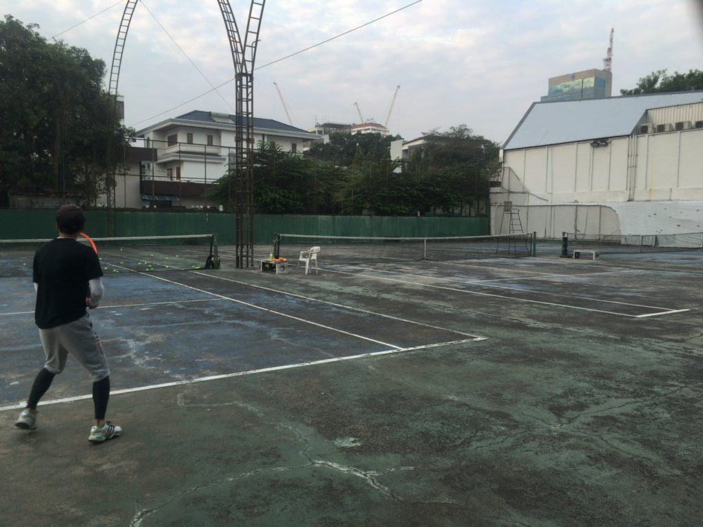 tennis court in Bangkok