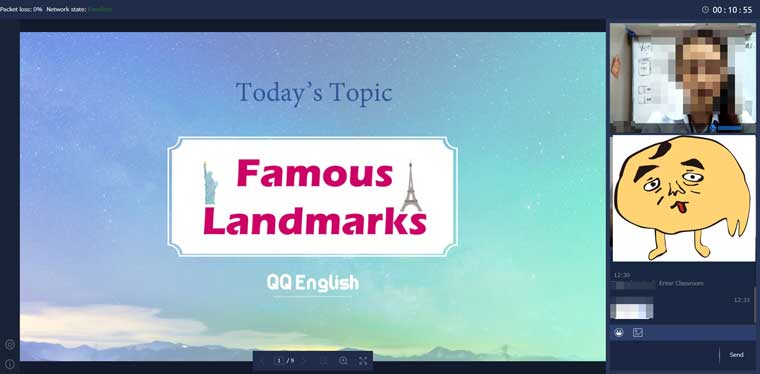 online English school QQEnglish with Callan method