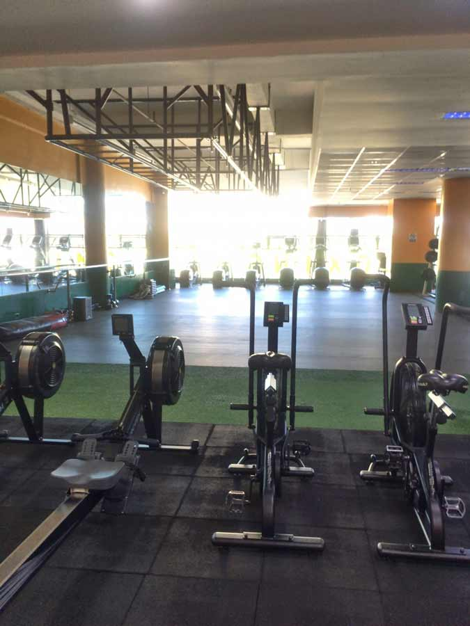 Fitness gym in Baguio Philippines
