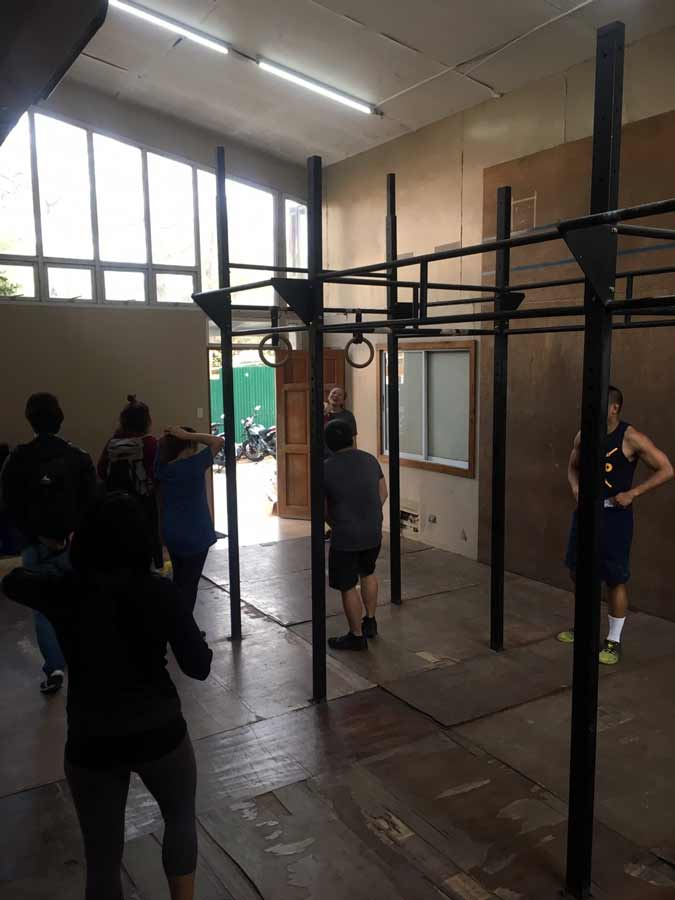 Fitness gym in Baguio Philippines group lesson