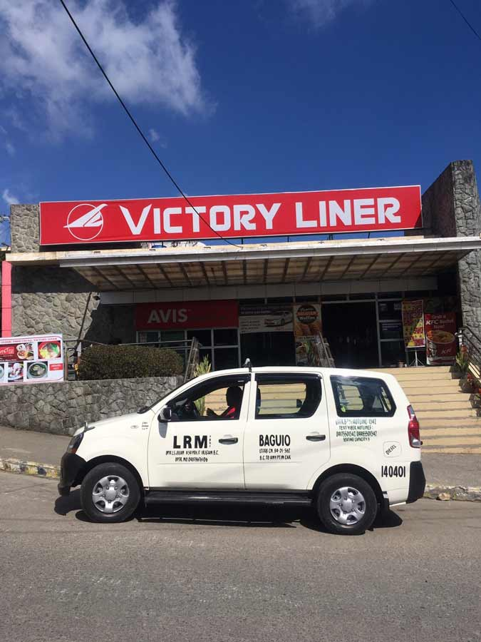 Victory Liner Bus Terminal in Baguio