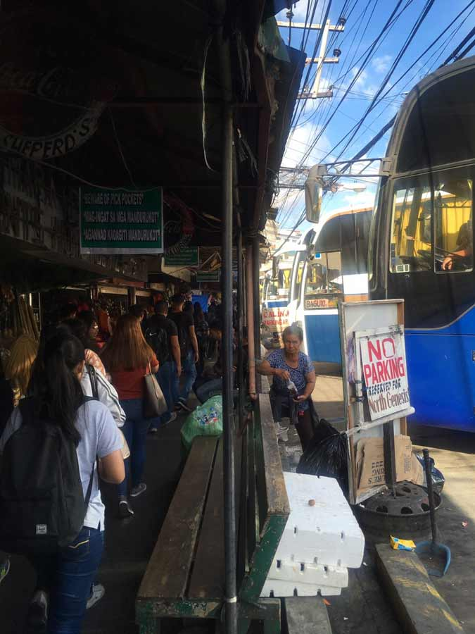 Joy Bus terminal in Baguio