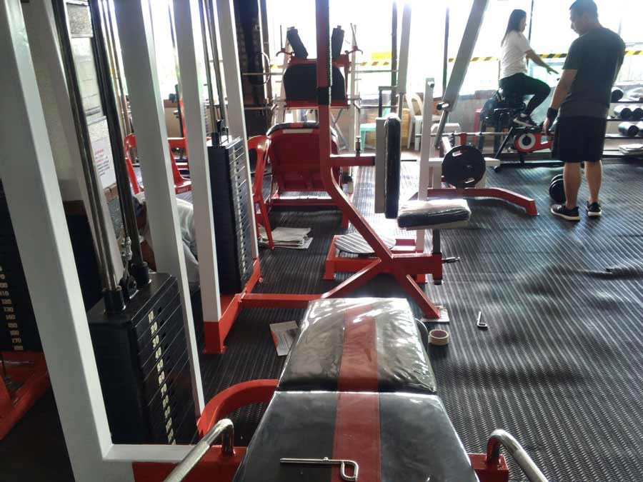 Gym on the session road in Baguio Philippines