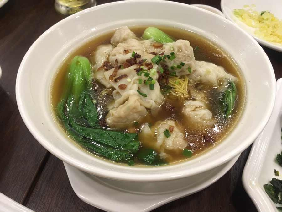 Baguio Chinese restaurant KING CHEF soup