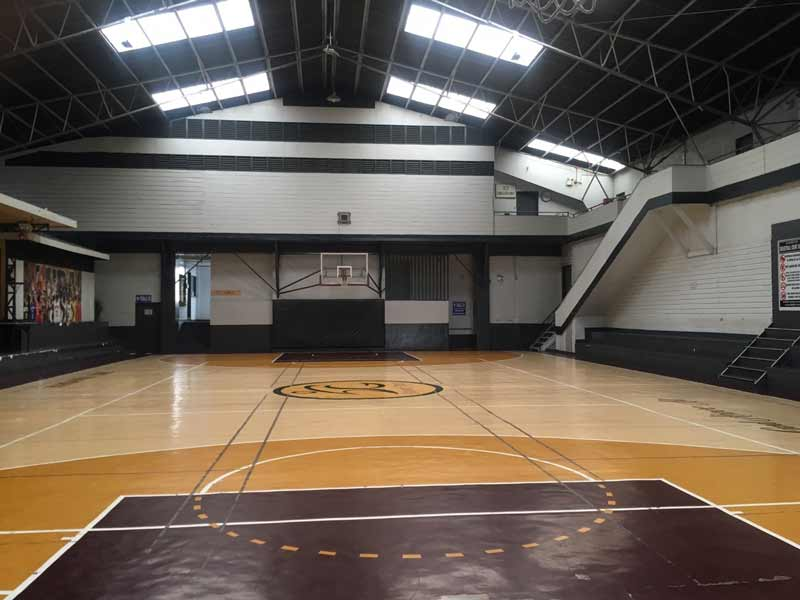 バギオ 体育館