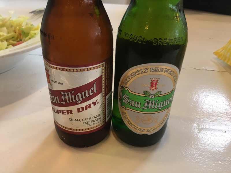 レストランカント ビール