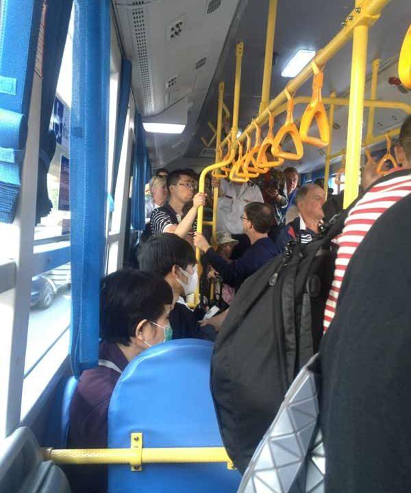 ドンムアン空港バス乗り場