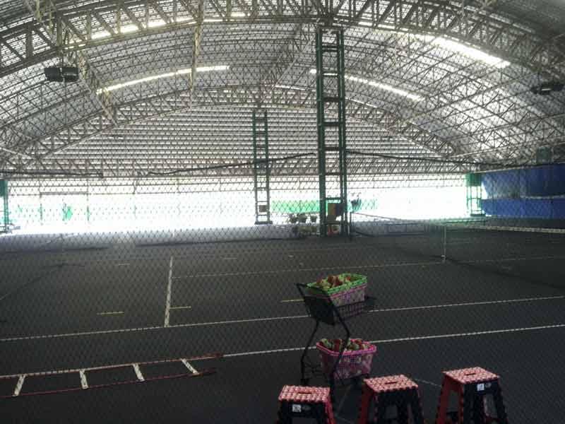 バンコク APFテニススクールのコート