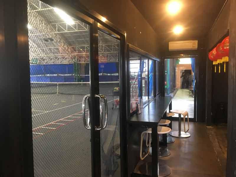 バンコク APFテニススクール待合室