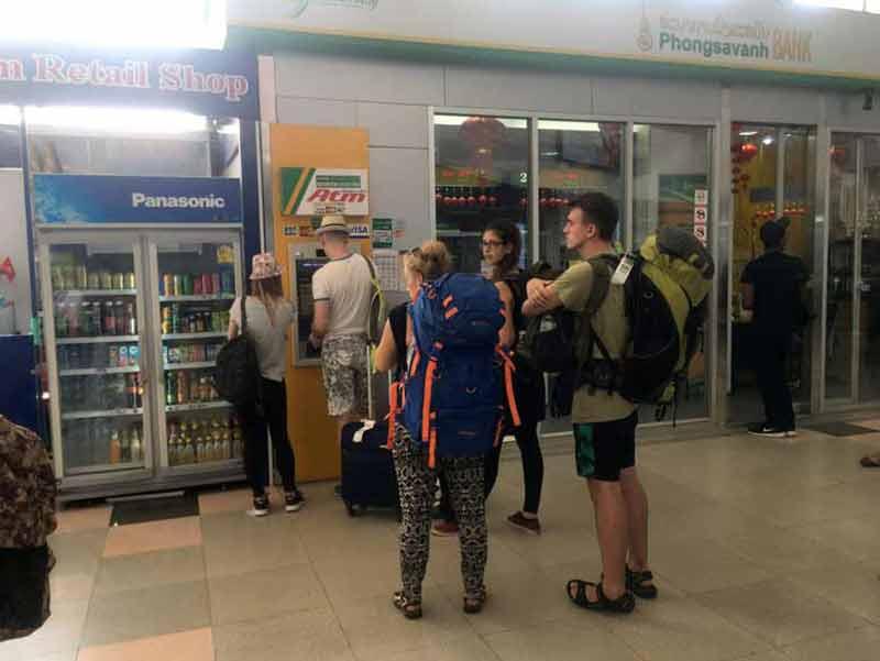 ビエンチャン空港 ATM