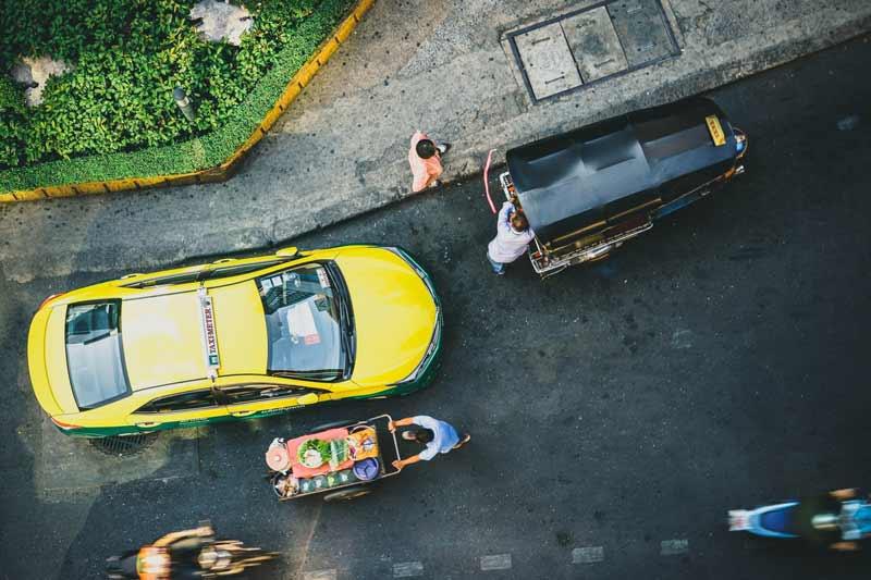 ドンムアン空港からの交通手段
