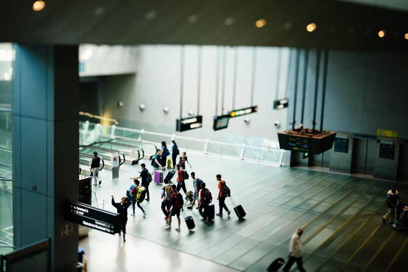 ドンムアン空港 オンラインチェックイン