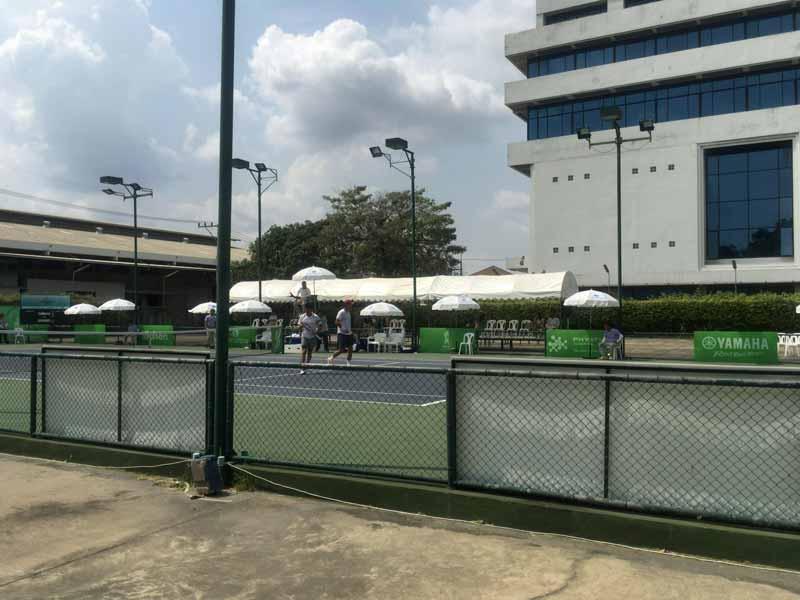 rama garden tennis court