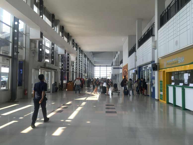 ビエンチャンワットタイ空港
