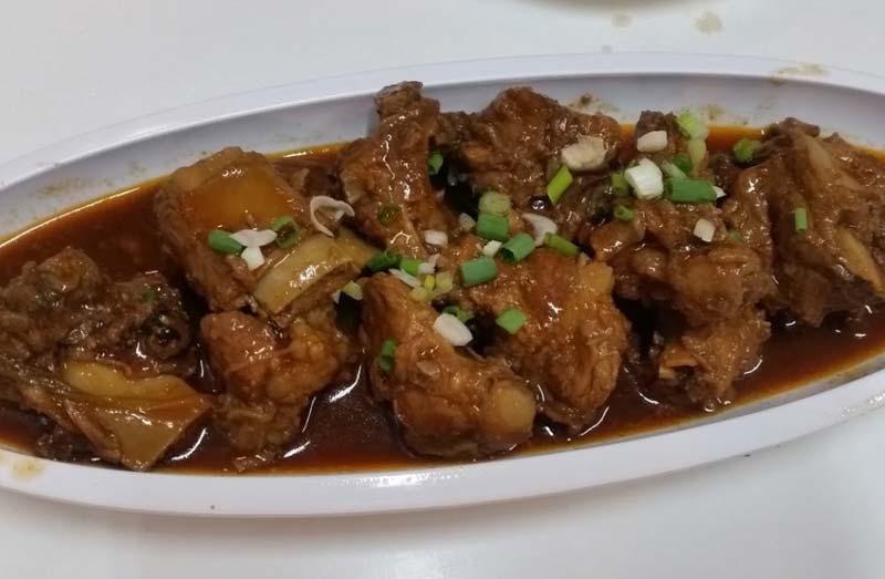 バンコク激安中華料理のお店