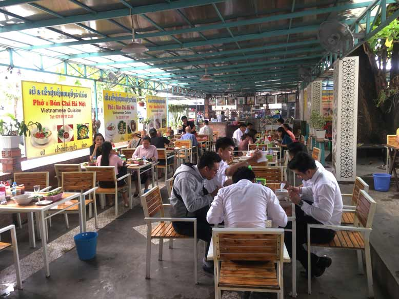 ビエンチャンおすすめのベトナム料理屋さん