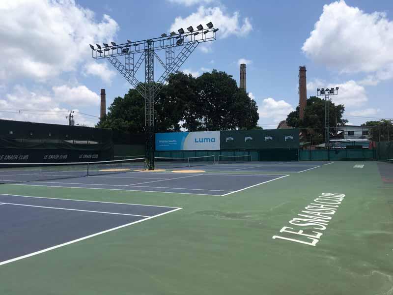 チョンノンシーのテニスクラブ