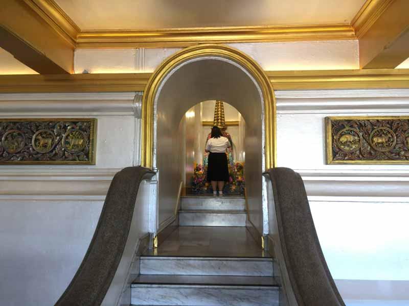 黄金像入口