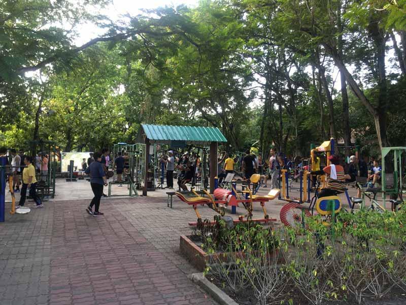 ラマ9公園ジム