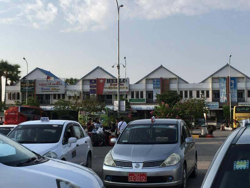 ニャンウンウーバスターミナル