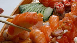 ヤンゴンのお寿司