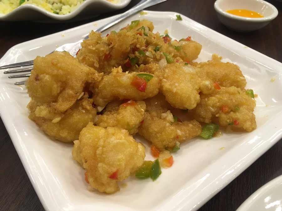バギオの中華レストラン