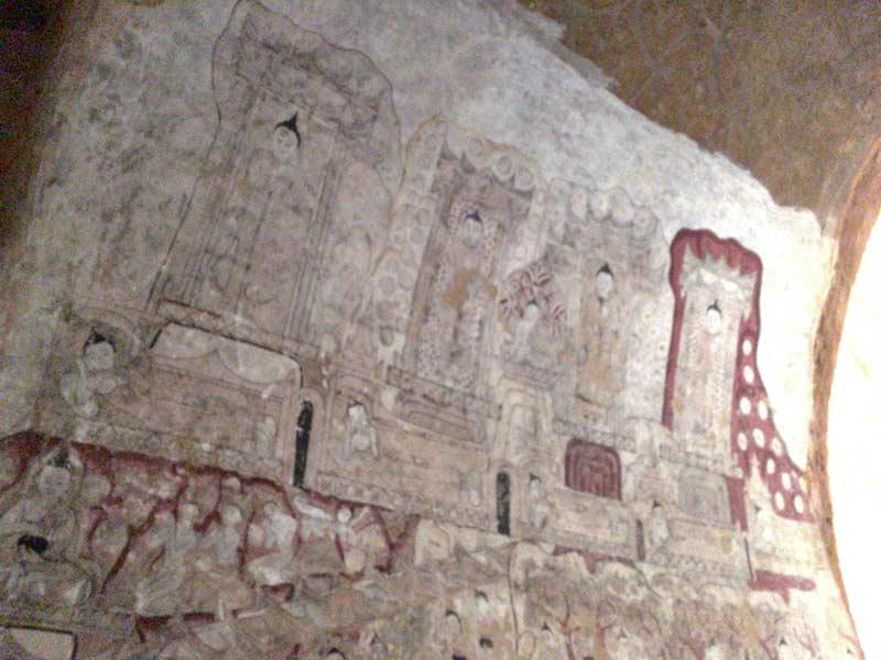 スラマニ寺院壁画