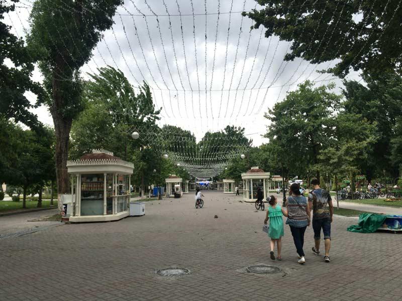 タシケントの公園