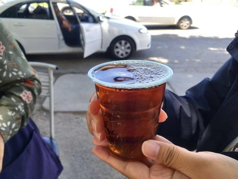 タシケントの洋梨紅茶