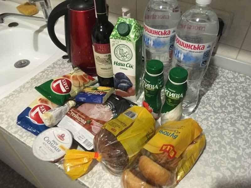 キエフの物価