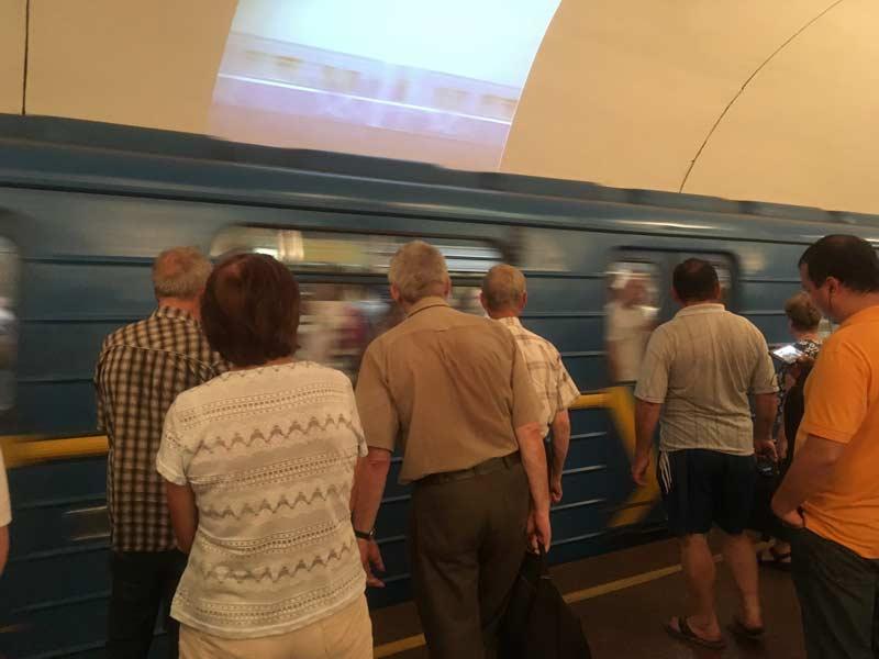 キエフの地下鉄