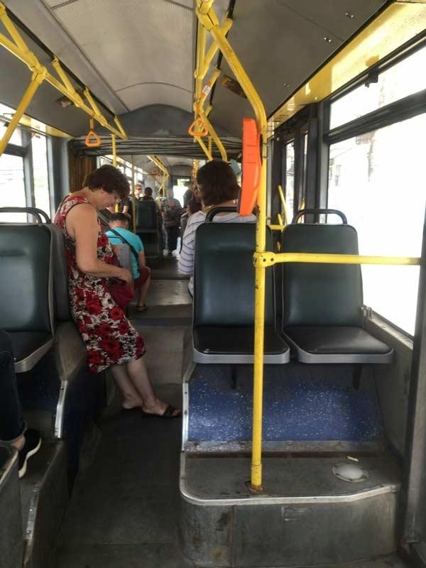 バスの集金係
