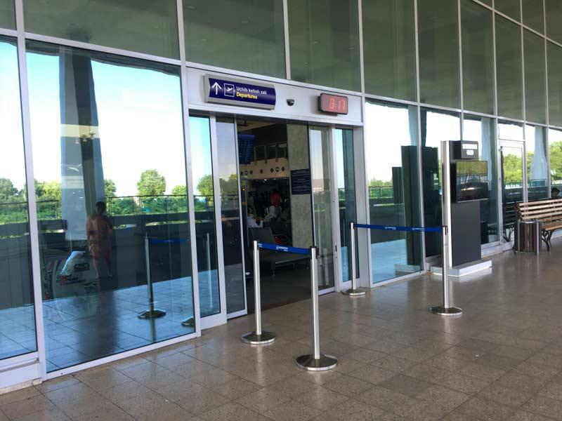 タシケント空港セキュリティ