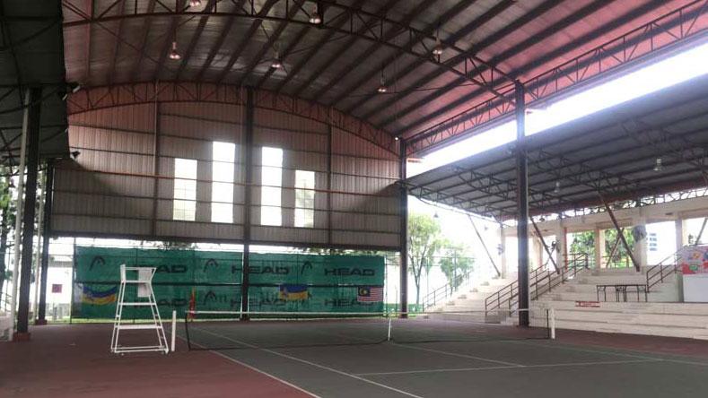クアラルンプールのテニスコート