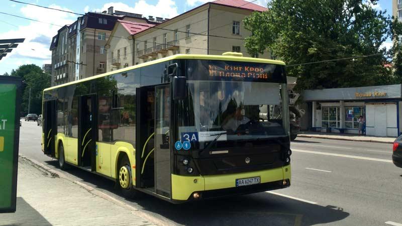 リヴィウの公共交通機関