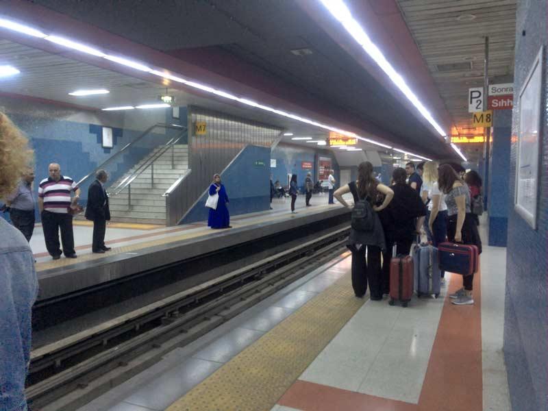 アンカラの地下鉄
