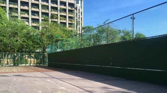 バンコクの無料壁打ち