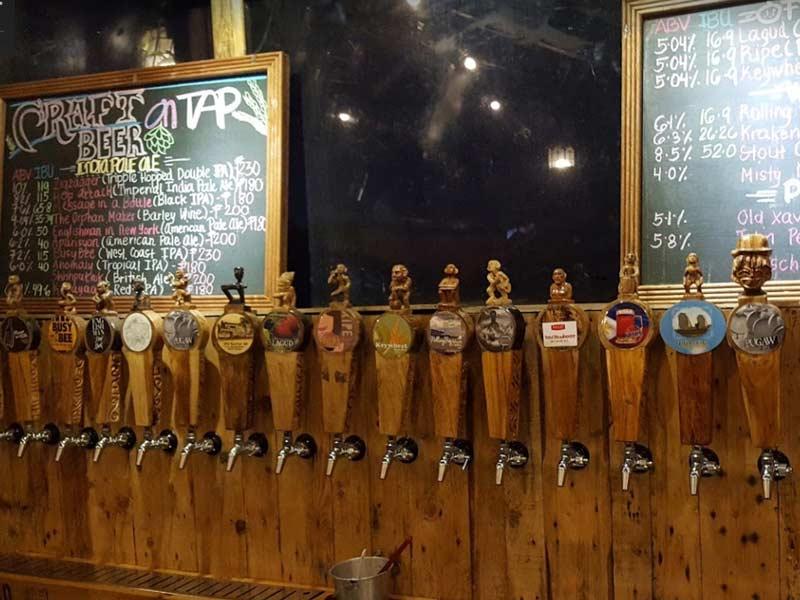 バギオの地ビール屋さん