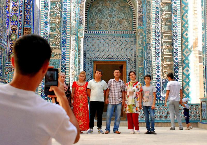 ウズベキスタンでの服装
