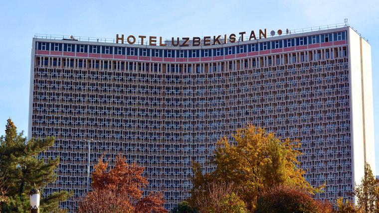 タシケントのホテル・ウズベキスタン